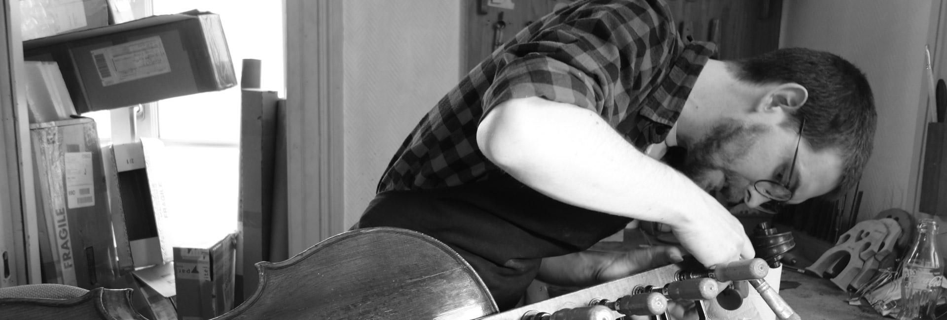 réparation de violon par un luthier de Lyon
